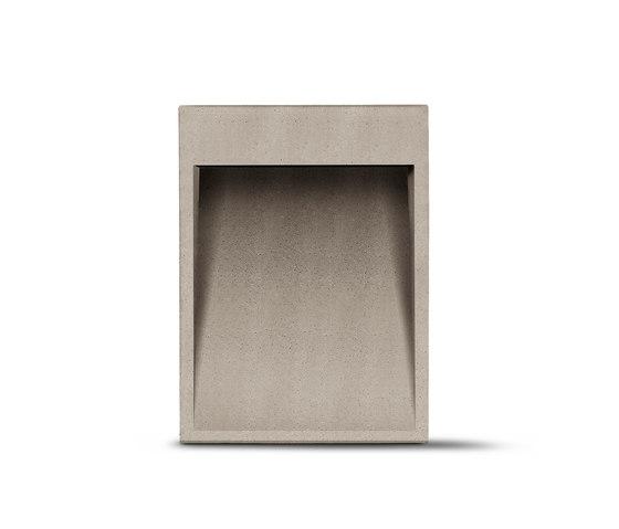 Concrete Borne H 450mm de Simes | Luminaires d'allées