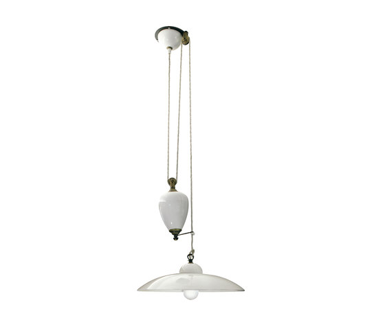Ceramic lamp shade de Officine Gullo   Lámparas de suspensión
