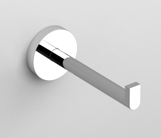 Flat toilet paper holder CL/09.02031 by Clou | Paper roll holders