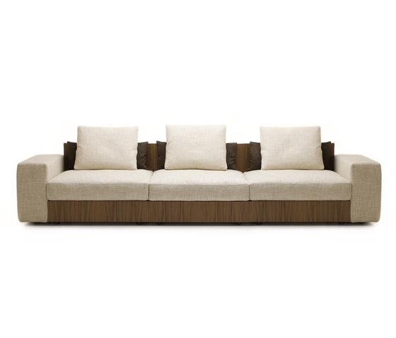 Sofa So Wood | divano 3 posti di Mussi Italy | Divani