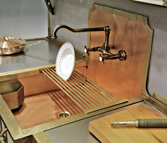 semi recessed sink k chensp lbecken von officine gullo. Black Bedroom Furniture Sets. Home Design Ideas