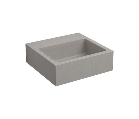 Flush 1 béton Lave-main CL/03.11011 de Clou | Lavabos