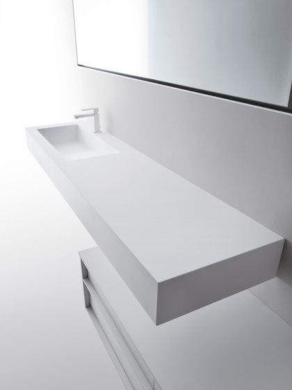 Square H15 by Falper | Wash basins