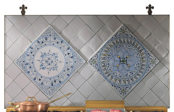 "Decorated Panel ""Rombi"" by Officine Gullo 