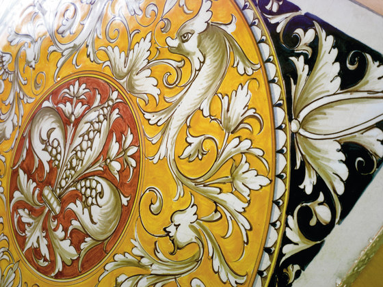 Decorated Tiles de Officine Gullo   Carrelage céramique