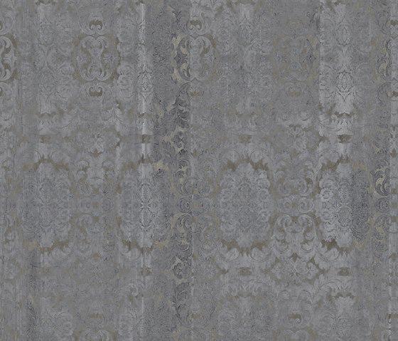 Damasked concrete von Inkiostro Bianco | Wandbeläge / Tapeten