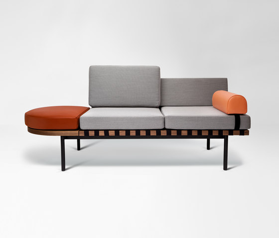 grid daybed lounge sofas from petite friture architonic. Black Bedroom Furniture Sets. Home Design Ideas