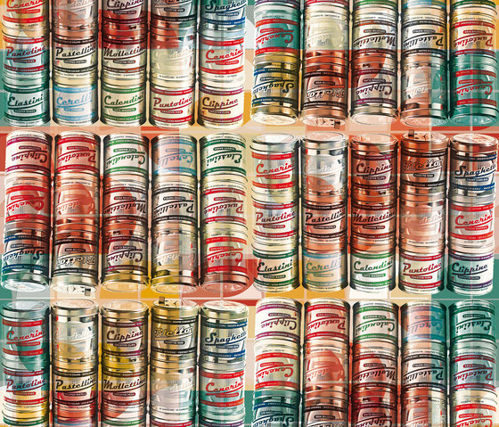 Tin Can by Inkiostro Bianco | Wall coverings / wallpapers