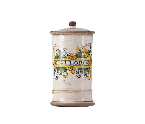 Decorated Majolica Jar de Officine Gullo | Boîtes de rangement