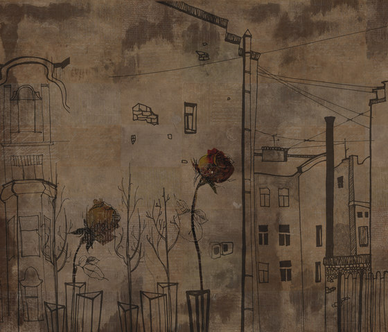 Urban Rose de Inkiostro Bianco   Arte
