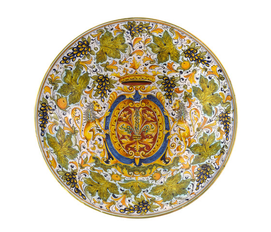 Decorated Plates by Officine Gullo | Dinnerware