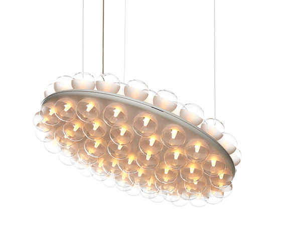 prop light round double by moooi | General lighting