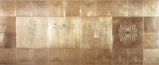 Tiles von Officine Gullo | Metall Fliesen