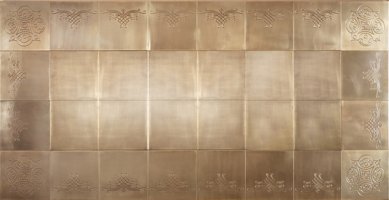 Backplate by Officine Gullo | Metal tiles