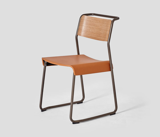 Canteen Utility Chair Upholstered von VG&P | Stühle