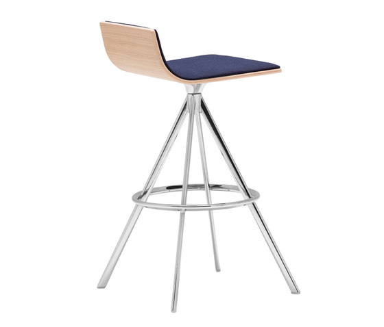 Lineal BQ 0642 by Andreu World   Bar stools