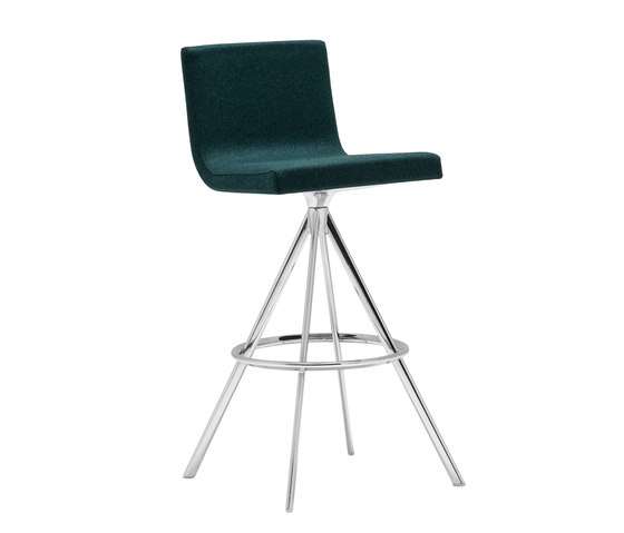 Lineal Comfort BQ 0634 by Andreu World | Bar stools
