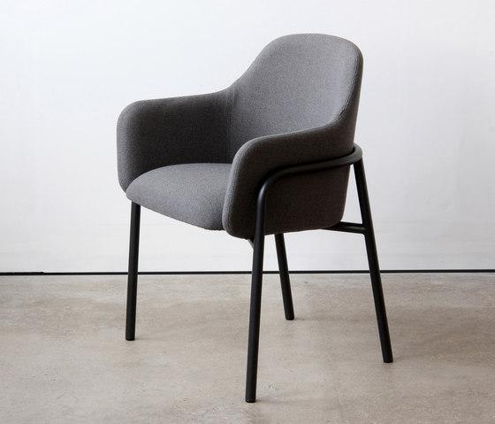 MT Club Chair Metal Frame de VG&P | Sillas de visita