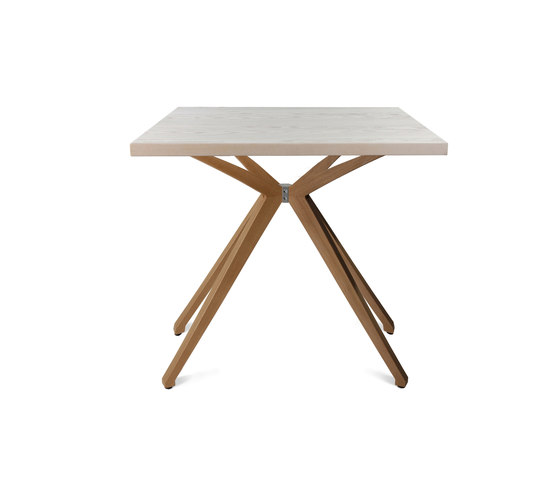 W-Table Small Wood Frame de Wagner | Mesas auxiliares