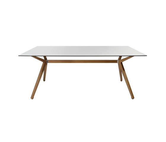 W-Table Wood Frame de Wagner | Escritorios