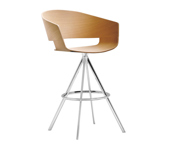 Ronda BQ 0475 by Andreu World | Bar stools