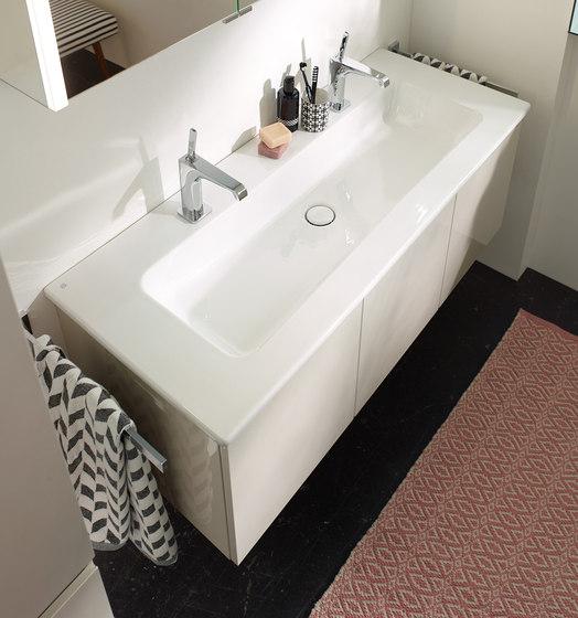 Bel | Keramik-Waschtisch inkl. Waschtischunterschrank von burgbad | Waschtischunterschränke
