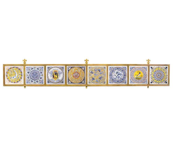 Frame for Decorated Tiles de Officine Gullo | Parements muraux