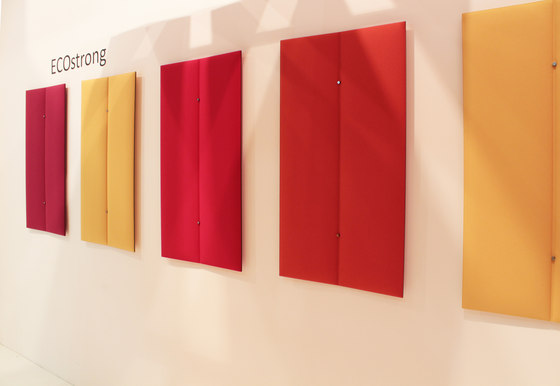 ECOstrong wall by Slalom | Sound absorbing wall systems