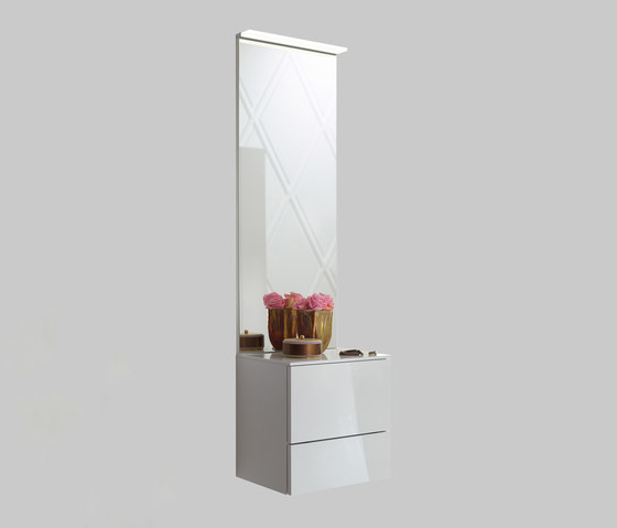 Crono | Mirror - drawer unit by burgbad | Wall cabinets