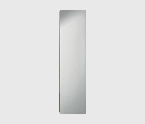 Pli | Tall unit with mirrored door di burgbad | Armadietti parete