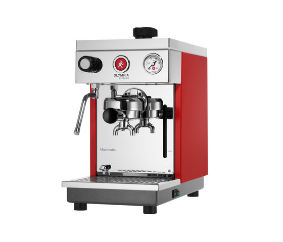 Maximatic red by Olympia Express SA | Coffee machines