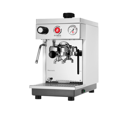 Maximatic white by Olympia Express SA | Coffee machines