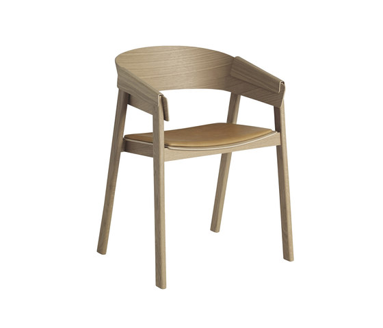 Cover Chair | leather by Muuto | Chairs