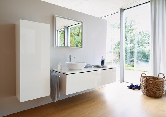 L cube cabinet base mobili lavabo duravit architonic