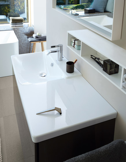 P3 Comforts - Washbasin by DURAVIT | Vanity units