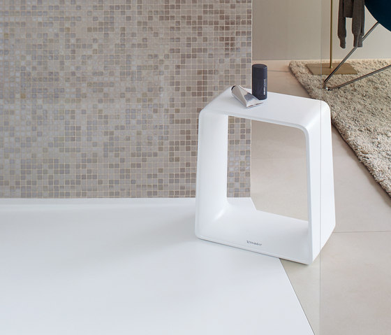 P3 Comforts- Stool by DURAVIT | Stools / Benches