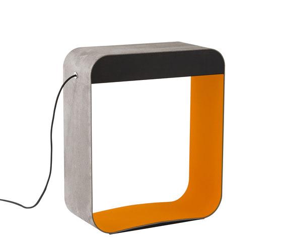 Eau de lumière Floor lamp Large Square by designheure | LED-lights