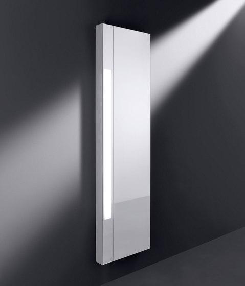 rc40   Mirror for the wall with vertical lighting di burgbad   Specchi da bagno