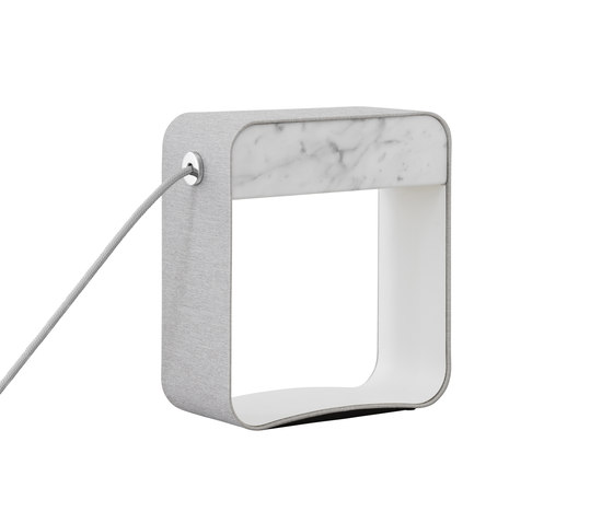 Eau de lumière Table lamp Small Square by designheure | Table lights