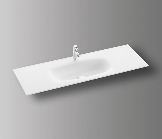 Sys30 | Glass washbasin by burgbad | Wash basins