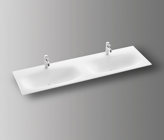 Sys30 | Glass washbasin by burgbad | Wash basins