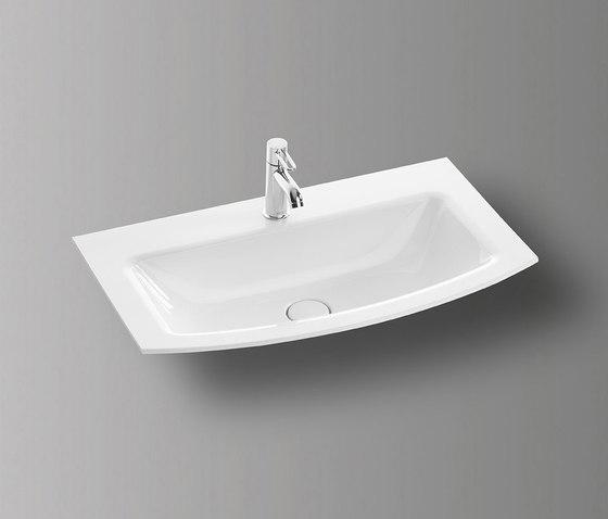 Sys30 | Ceramic washbasin by burgbad | Wash basins