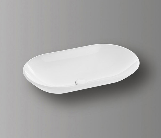 Sys30 | Mineral cast washbasin by burgbad | Wash basins