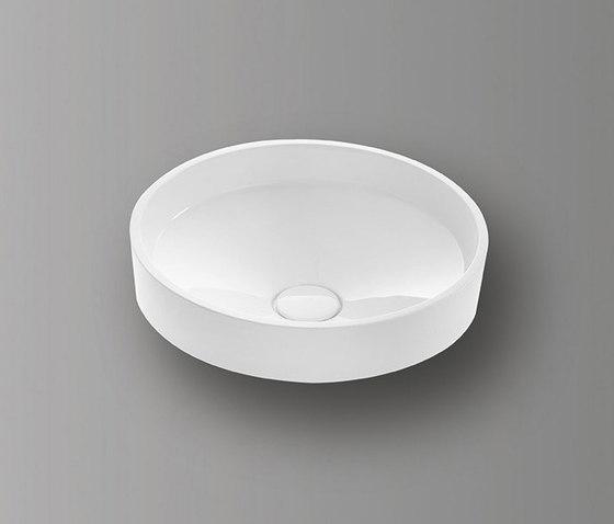 Sys30 | Mineral cast washbasin by burgbad | Wash basins