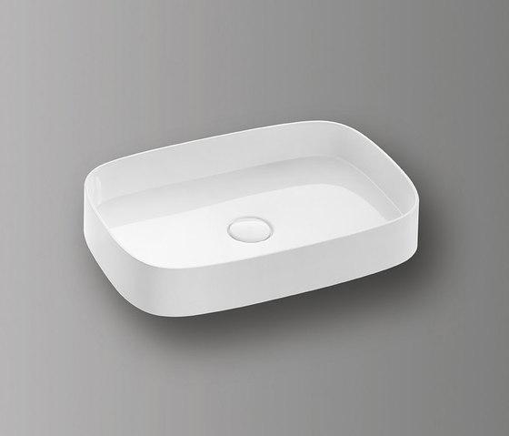 Sys30 | Mineral cast washbasin di burgbad | Lavabi
