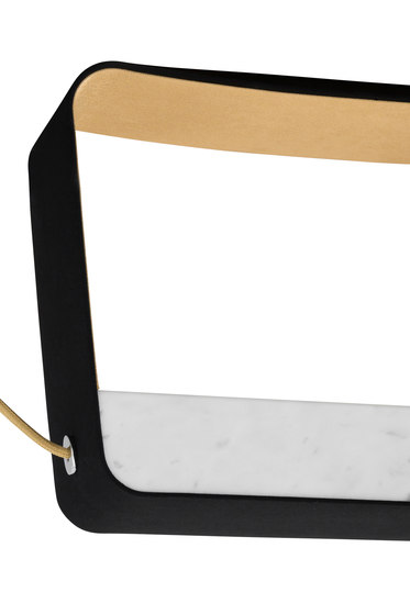 Eau de lumière Chandelier 4 Medium Rectangle by designheure | General lighting