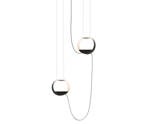 Eau de lumière Suspension 2 Petit Rond de designheure | Éclairage général