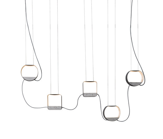 Eau de lumière Suspension 5 Petit by designheure | General lighting