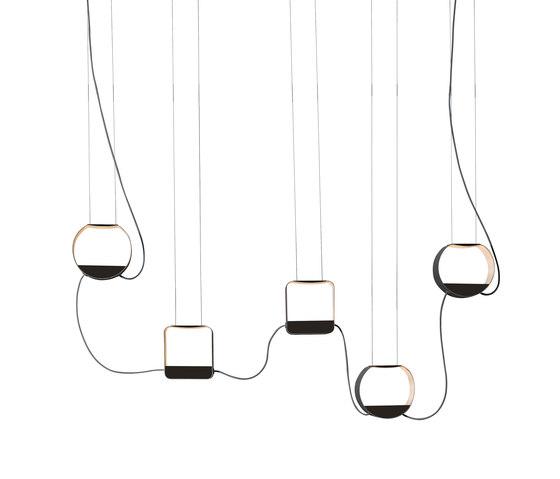 Eau de lumière Suspension 5 Petit von designheure | Pendelleuchten
