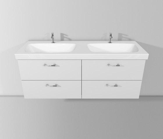 Sys30 | Ceramic washbasin incl. vanity unit by burgbad | Vanity units